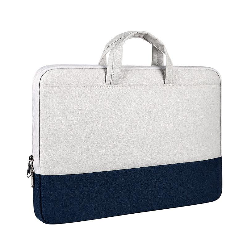 """Сумка для MacBook Air/Pro 13,3"""" 2012-2021 - сірий з синім"""