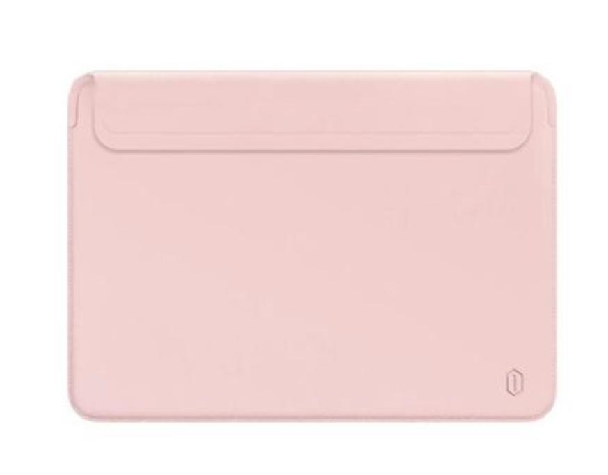 "Чохол конверт WIWU Skin Pro II PU Leather Sleeve для MacBook Pro/Air 13.3"" - рожевий"