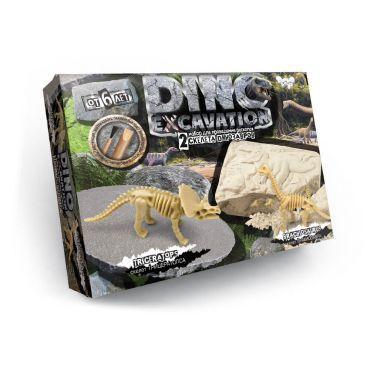 """Набір для проведення розкопу """"DINO EXCAVATION"""" динозаври укр.(6)"""