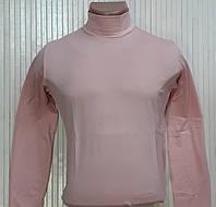 Гольф (водолазка) чоловічий, віскоза, світло-рожевий