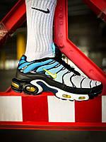 "Мужские кроссовки Nike Air Max Tn Plus ""White/Blue Найк"