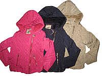 Куртка  с мехом для девочек, GRACE, размеры 16 лет арт. G 41793
