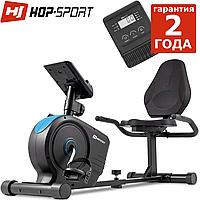 Велотренажер HS-2050L Beat чорно / синій, фото 1