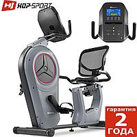 Велотренажер HS-100L Edge сірий iConsole+, фото 1