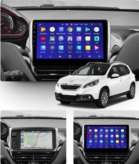 Штатна Android Магнітола на Peugeot 2008/208 2013-2020 Model T3-solution + canbus (М-П2008-10-Т3)