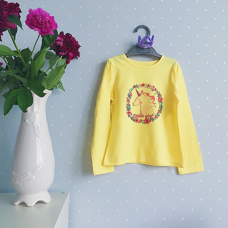 Реглан для девочки жёлтый