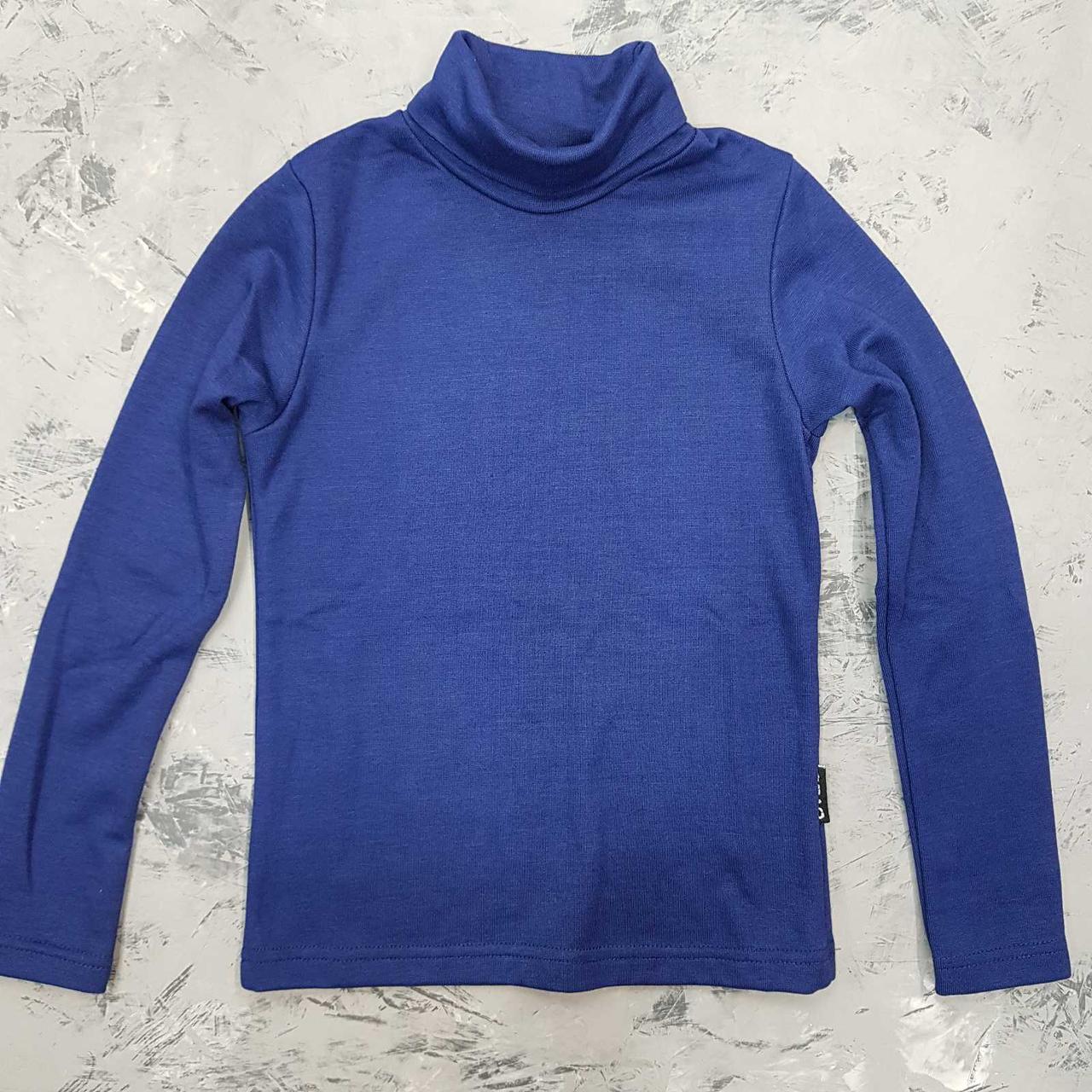 Гольф для хлопчика підлітковий Піаф синій