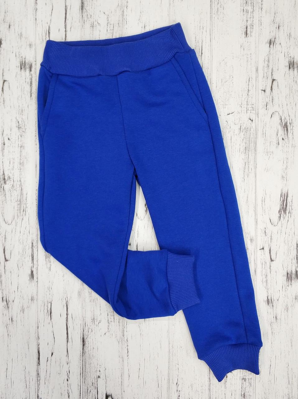 Дитячі спортивні штани для дівчинки сині