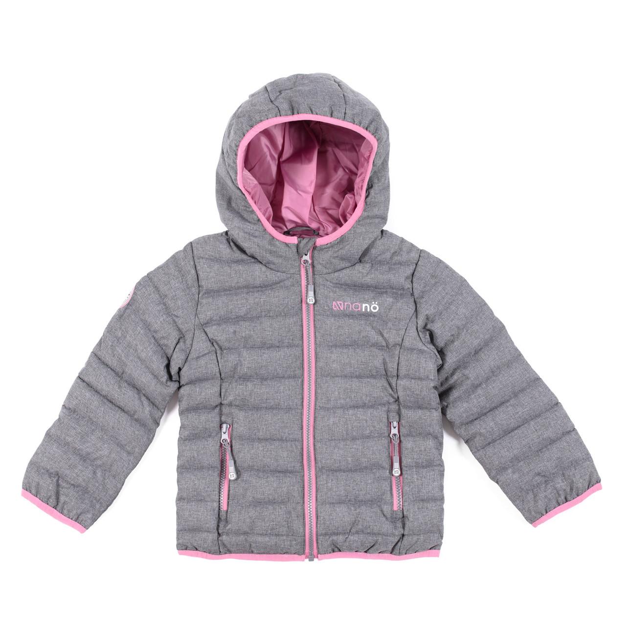 Демісезонна куртка для дівчинки DustGray