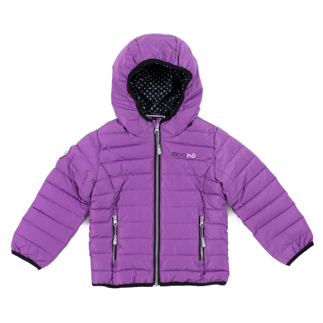 Демісезонна куртка для дівчинки Lilac