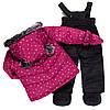 Теплый зимний комплект для девочки от peluche & tartine, фото 2