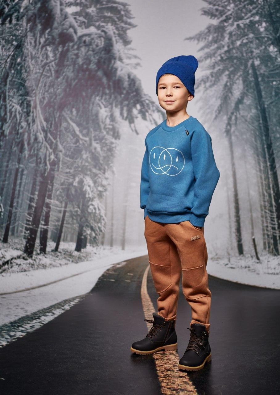 Джемпер для хлопчика на флісі Овен Саунд