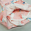 Дитячий боді для дівчинки єдиноріжки рожеве, фото 2