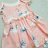 Дитячий боді для дівчинки єдиноріжки рожеве, фото 3