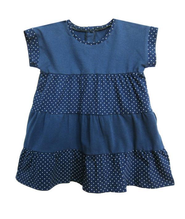 Літнє плаття для дівчинки джинс