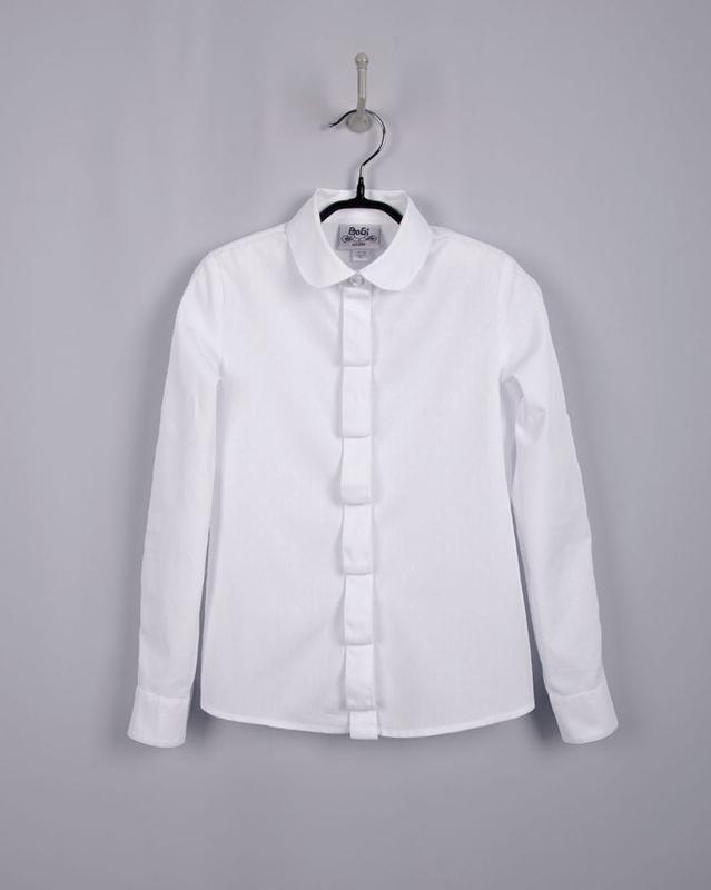Блуза рубашка подростковая для девочки