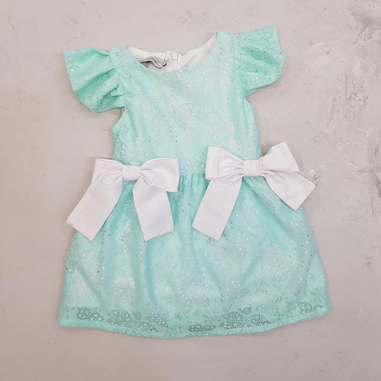 Нарядне плаття для дівчинки бантики