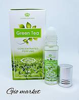 Оригинальные арабские масляные духи Green Tea Al Rehab 6 мл