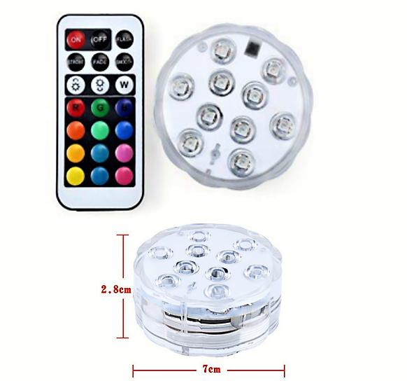 LED светильник для аквариума AqL - 4W  RGB + пульт