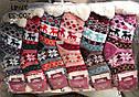 Жіночі вовняні капці шкарпетки на хутрі Термо, фото 2