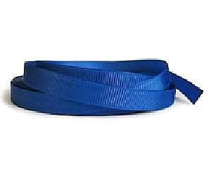 Лента репсовая 1,2 см, синяя
