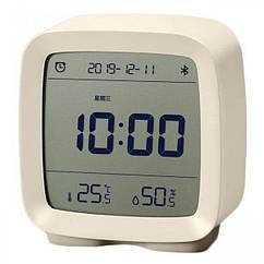 Розумний будильник Xiaomi Qingping (Годинник, Будильник, Гігрометр) CGD1 Beige (White/Blue)