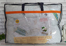 Одеяло хлопок полуторный размер в подарочной сумке О-906