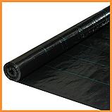 Агроткань  черная 100 г/м² , 1,7 х 25 м., фото 3