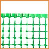 Сітка 20*20 пластмасова 1.0х20 м (зелена) Колібрі, фото 3
