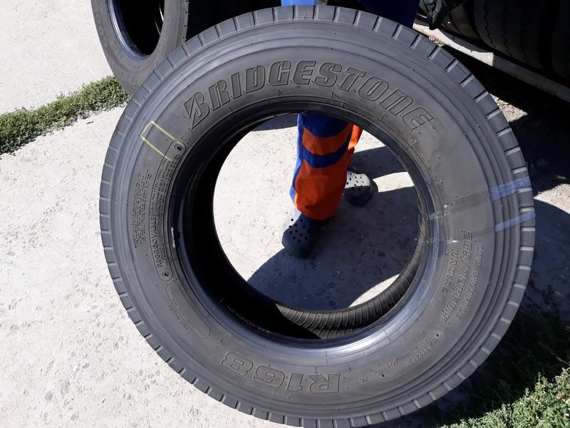 Шины б.у. 265.70.r19.5 Bridgestone R168 Бриджстоун. Резина бу для грузовиков и автобусов