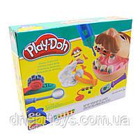 Набор для лепки пластилин Play-Doh Мистер Зубастик (качественный аналог) МК1525 (Набор стоматолога), фото 2