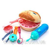Набор для лепки пластилин Play-Doh Мистер Зубастик (качественный аналог) МК1525 (Набор стоматолога), фото 3