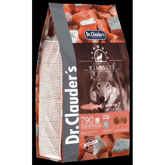 Dr.Clauder's Wildlife Salmon (11,5кг) ХОЛИСТИК корм с мясом лосося для взрослых собак