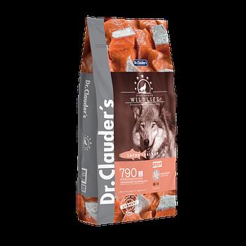 Dr.Clauder's Wildlife Salmon (0,35 кг) ХОЛИСТИК корм с мясом лосося для взрослых собак