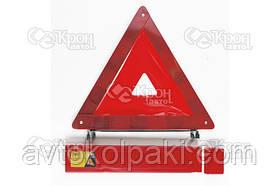 Знак аварийной остановки (пластиковая упаковка) (усиленный) СИЛА