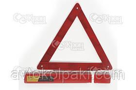 Знак аварийной остановки (пластиковая упаковка) СИЛА