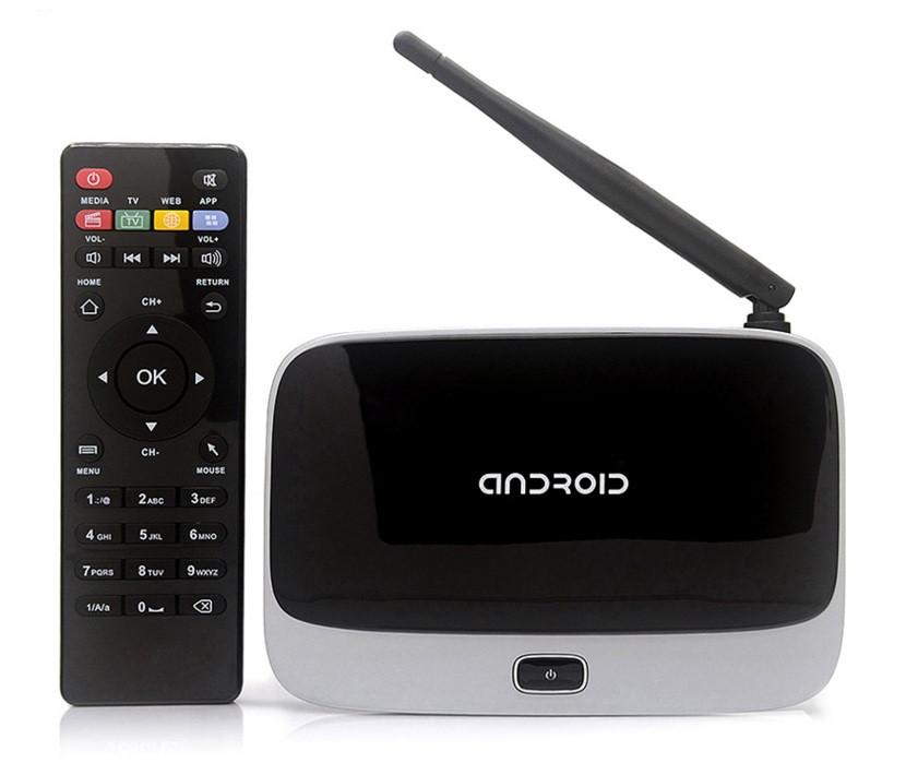 Медиаплеер четырехъядерный Android Smart TV box CS918/MK888