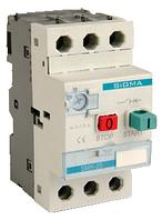 Автомат защиты электродвигателя 3 фазы, уставка 0.25-0.4А, 25А, 100кА  теплушка