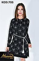 Платье-туника ЗВЕЗДОЧКА вязка для девушек размер 42-48,цвет микс в упаковке