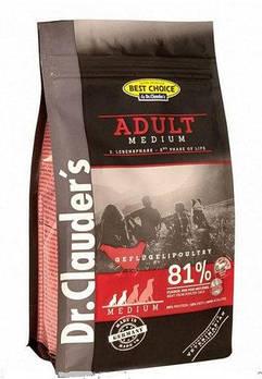 Dr.Clauder's Adult Medium DOG (0.35 кг) Пачка корм для дорослих собак маленьких і середніх порід