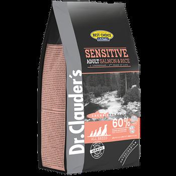 Dr.Clauder's Adult Sensetive Salmon & Rice DOG (20 кг) корм для дорослих собак з харчовою чутливістю