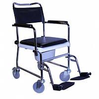 Кресло-каталка для туалета на колесах OSD-JBS367A, фото 1
