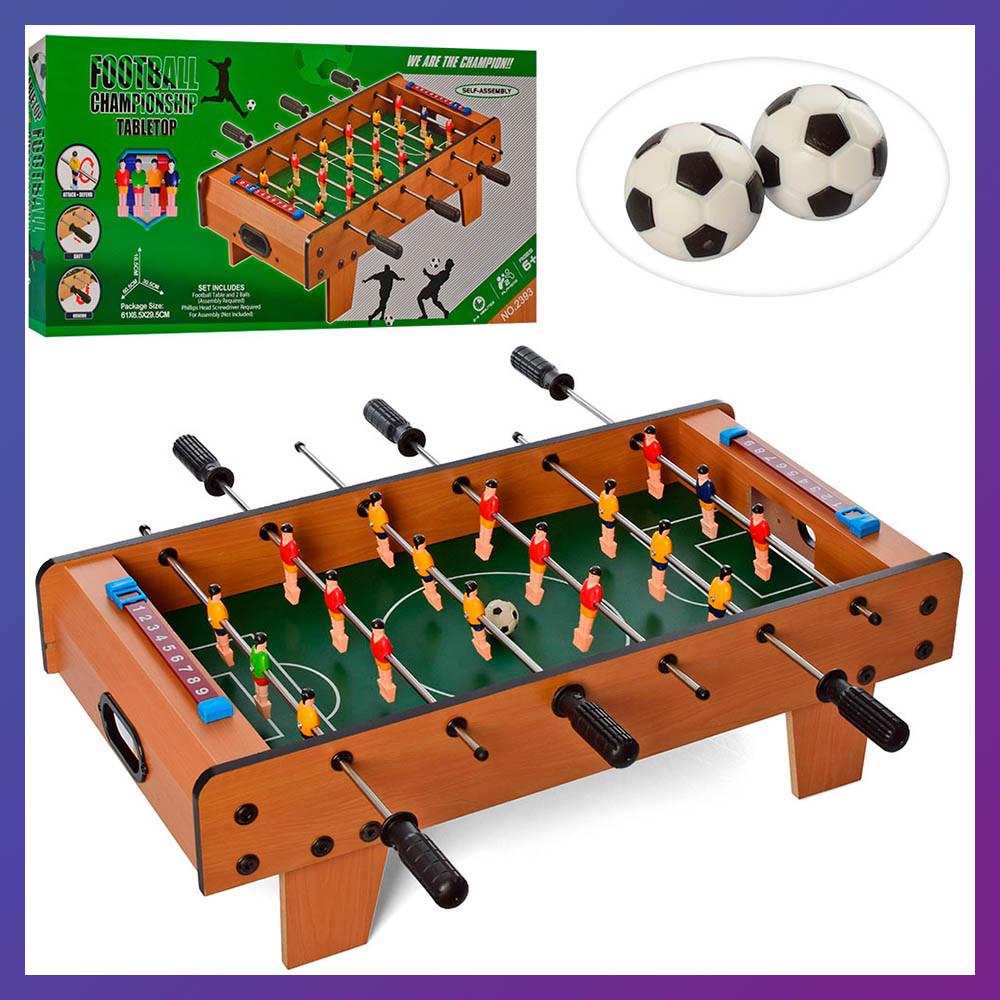 Дитяча настільна гра Футбол Дитячий настільний футбол на штангах 2393