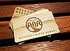 Виготовлення дерев'яних візиток з фанери з лазерним гравіруванням на замовлення, фото 2