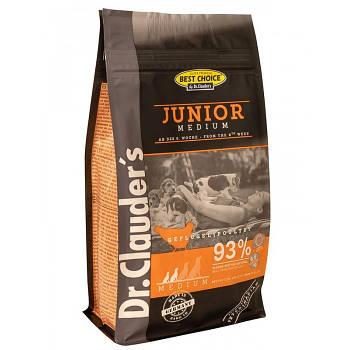 Dr.Clauder's Junior Medium DOG (0.35 кг) ПАЧКА Сухий корм для цуценят маленьких і середніх порід 350гр