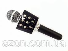 Бездротовий мікрофон караоке bluetooth Wster WS1688 Чорний