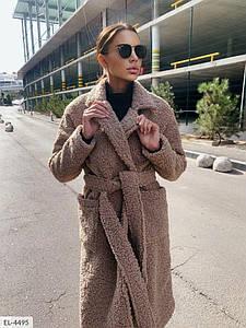 Женское Пальто барашек на подкладке S, M, L