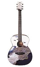 Гітара електроакустична Tyma V-3 Ukiyoe