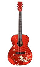 Гітара електроакустична Tyma V-3 Koi