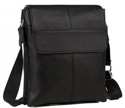 Сумка через плечо мужская кожаная Tiding Bag A75-093A